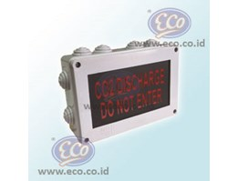 Flashing Signal - CO2 Discharge Do Not Enter