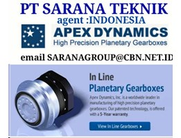 Jual APEX DYNAMICS SPIRAL BEVEL PLANETARY GEARBOX