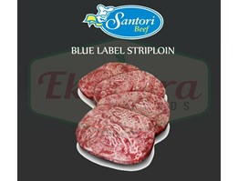 Jual DAGING SAPI SANTORI BLUE LABEL S (STRIPLOIN) 200 GR