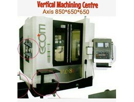 Jual Vertical Machining Centre axis 850*650*650