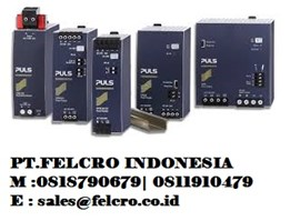 Jual PULS Power Supply Distributor | PT.FELCRO |0811910479