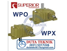 Jual WP series Worm Gearbox WPO & WPX