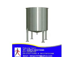 "Jual Jual Chemical Mixing Tank Stainless Steel  ""KMP"""