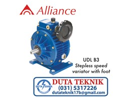 Jual Alliance Variator (Foot Mounted) UDL B3