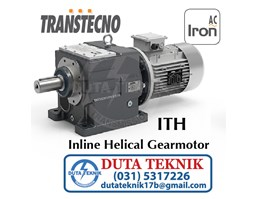Transtechno Inline Helical Gearmotor ITH (AC Iron)
