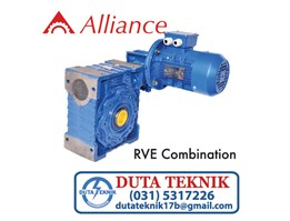 Jual Alliance worm gear RVE combination