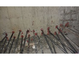 Rebar HILTI Chemical Bonding