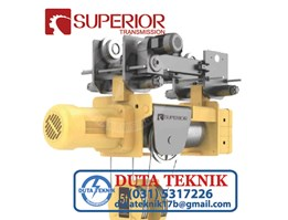 Jual Superior Wire Rope Hoist with Trolley SHA-B