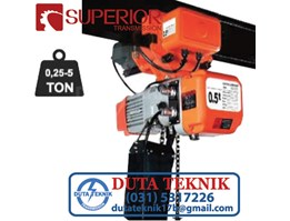 Jual Superior Electric Chain Hoist with Trolley SHH-AM
