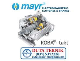 Jual Mayr Electromagnetic Clutches & Brakes -- ROBA Takt