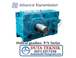 Industrial Gearbox-Helical Gearbox P/V Series