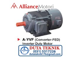 Alliance Inverter Duty Motor A-YVF