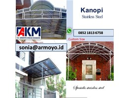 kanopi stainless steel