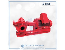 Jual A-Line Electric Fire Pump Set NFPA20 Type XBD Series