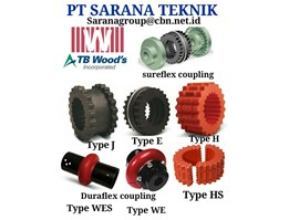 Jual TB WOODS COUPLING MADE IN USA
