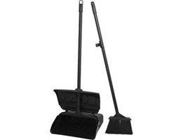 Jual Dust Pan Black + Broom