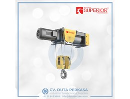 Jual Superior Foot Mounted Wire Rope Hoist Type SHA7 Series