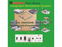 Floor box legrand 89620 Stainless cover