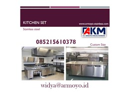 Jual Kitchen set stainless steel