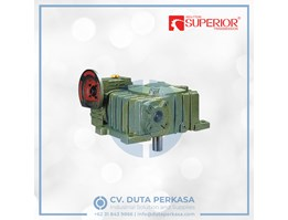 Jual Superior Transmission Worm Gearbox Type WPEDX Series