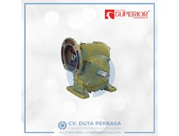 Jual Superior Transmission Worm Gear Box Type WPDS Series