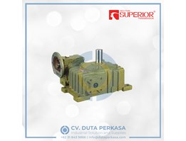 Jual Superior Transmission Worm Gearbox Type WPEDO Series