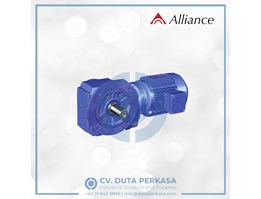 Jual Alliance Gear Helical and Bevel Gearbox Type AK Series