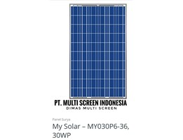 Panel Surya My Solar 30 WP