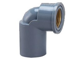 FAUCET ELBOW WITH METAL INSERT (AW) ONDA