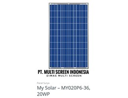 Panel Surya My Solar 20WP