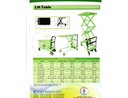Jual PROMO SECISSOR LIFT TABLE MURAH DI MR BAHRI DENKO