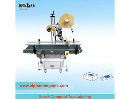 SOLO Compact Top Labeling Machine