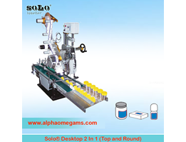 Jual SOLO Two in One Labeling Machine (Top and Round)