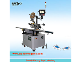 Jual SOLO Flexcy Top Labeling Machine