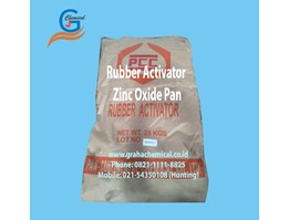 Jual Rubber Activator Zinc Oxide Pan ex China