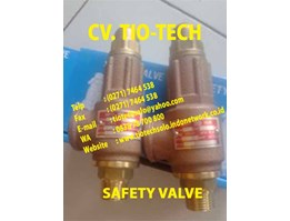 Jual Safety Valve 16 Bar Ex. Taiwan