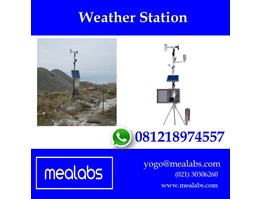 Alat Uji Pengamat Cuaca (Weather Station)