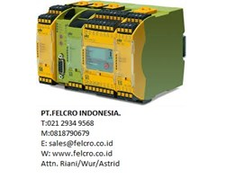 Jual Pilz|PT.Felcro Indonesia|021 2934 9568| sales@felcro.co.id