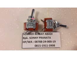 Toggle Switches Industrial S-301 Japan 6A 250VAC