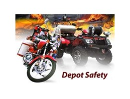 FIREFIGHTER MOTORCYCLE