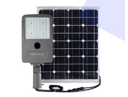 PJU Solarcell two in one 50W LED