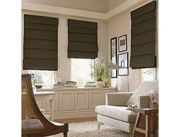 WINDOW FASHION ROMAN SHADES