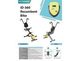 Jual ID 360 RECUMBENT BIKE