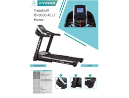 Jual TREADMILL ID-8838 AC-2 HOME