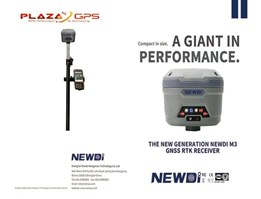 GNSS RTK Geodetic NEWDI M3 1SET (Base & Rover)