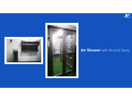 Jual Air Shower with Alcohol Spray