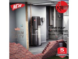 Jual Rheem heat pump water heater 150ltr 425watt(australia)