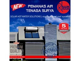 Jual Rheem Water Heater Tenaga Surya 300 VE(DIRECT) AUSTRALIA