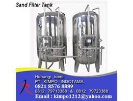 Jual Multi Media Stainless steel Tank .