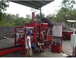 Mesin Press Paving Batako Hidrolis support Kekeran K500